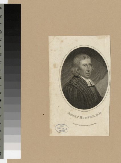 Portrait of H. Hunter