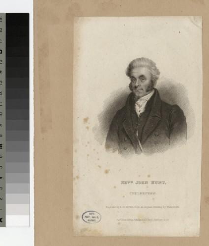 Portrait of J. Hunt