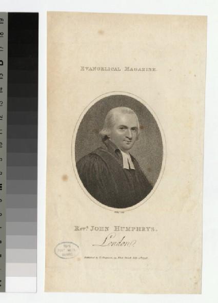 Portrait of J. Humphrys