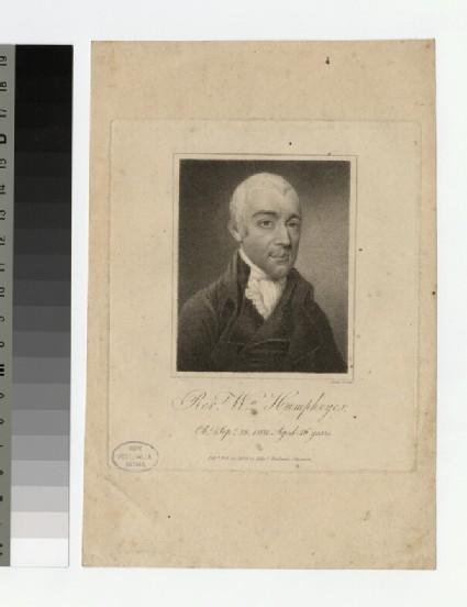 Portrait of W. Humphreyes