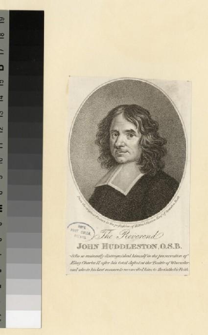Portrait of J. Huddleston