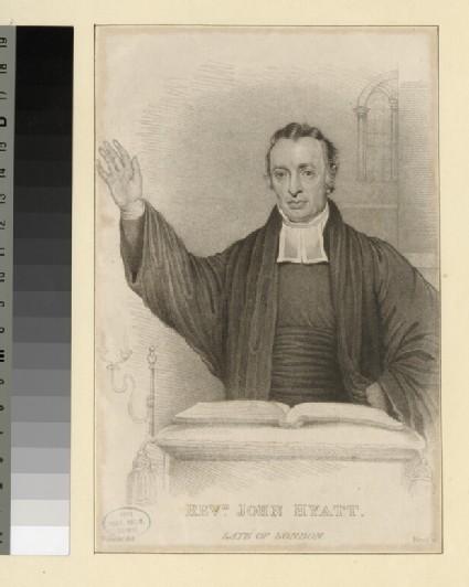 Portrait of J. Hyatt