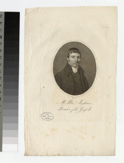 Portrait of T. Ingham