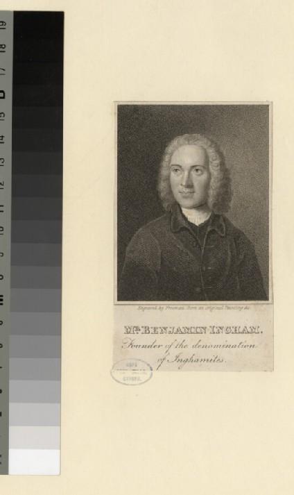 Portrait of B. Ingham