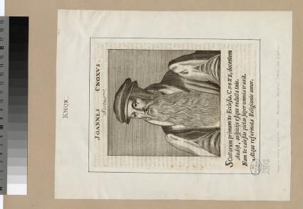 Portrait of J. Knox