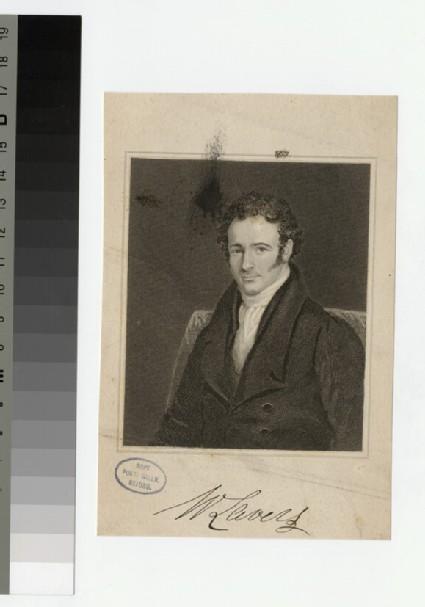 Portrait of W. Lavers