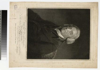 Portrait of Revd Mr Lascelles