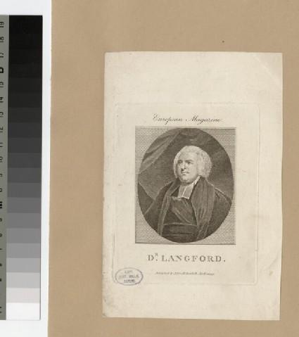 Portrait of Dr Langford