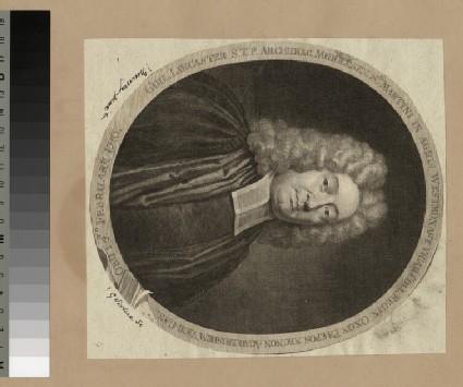 Portrait of Revd Dr William Lancaster