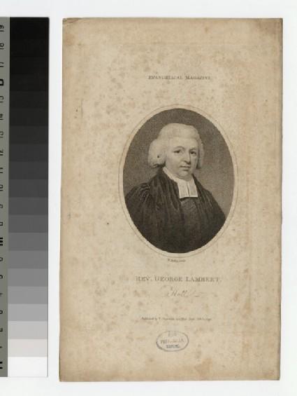 Portrait of G. Lambert