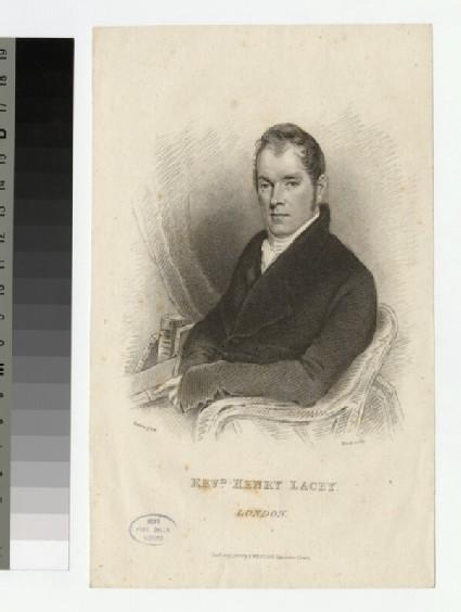 Portrait of H. Lacey