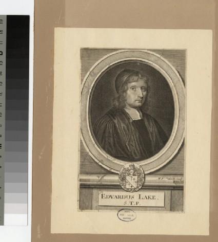 Portrait of Revd Dr E. Lake