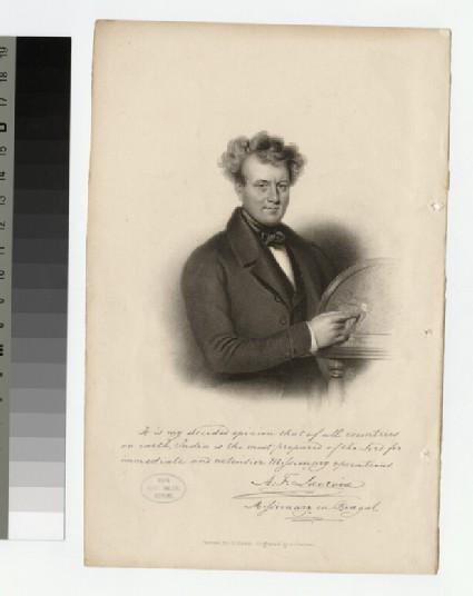 Portrait of A. F. Lacroix