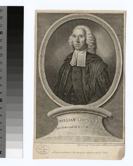 Portrait of W. Leechman