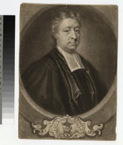 Portrait of Revd J. Lewis