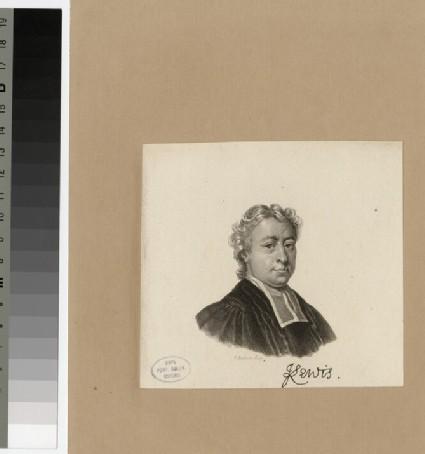 Portrait of J. Lewis