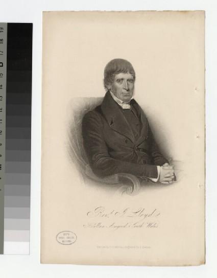 Portrait of J. Lloyd