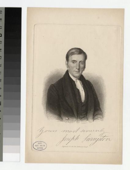 Portrait of J. Livingston