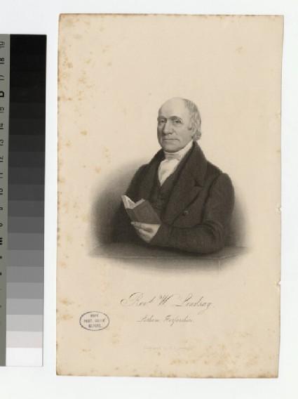 Portrait of W. Lindsay