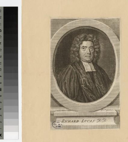 Portrait of Revd Dr R. Lucas
