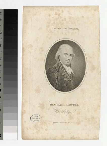 Portrait of S. Lowell