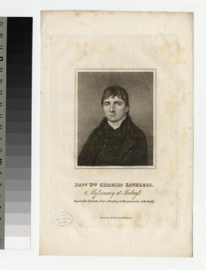 Portrait of C. Loveless