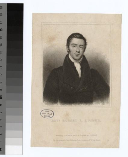 Portrait of R. L. Lusher