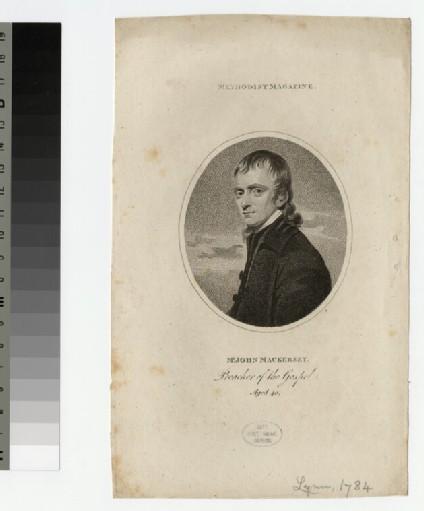 Portrait of J. Mackersey