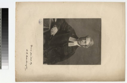 Portrait of W. B. Mackenzie