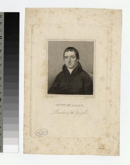 Portrait of W. McAllum