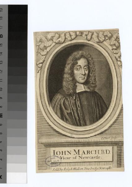 Portrait of Revd J. March