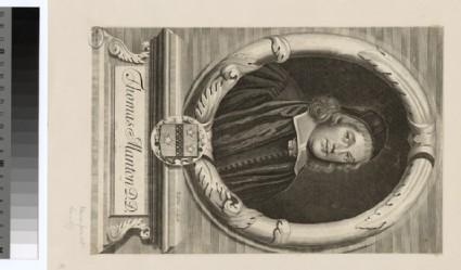 Portrait of T. Manton