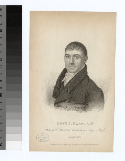 Portrait of I. Mann