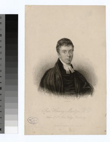 Portrait of Revd H. Martyn