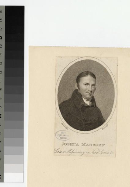 Portrait of J. Marsden
