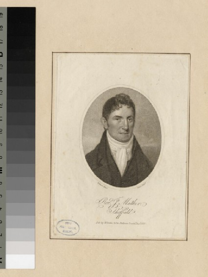 Portrait of P. Mather