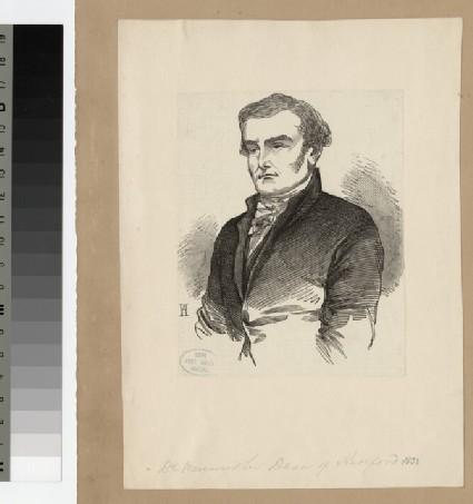 Portrait of Very Revd J. Merewether