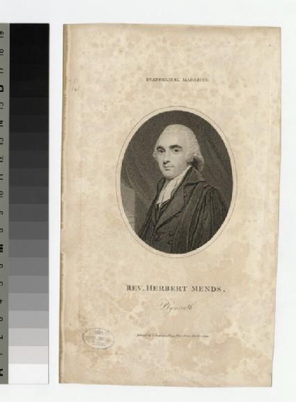 Portrait of H. Mends