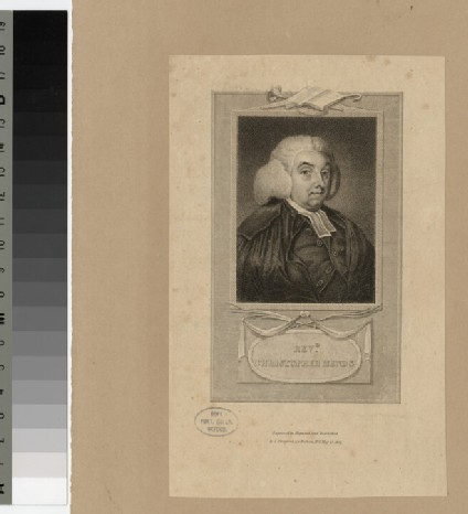 Portrait of C. Mends