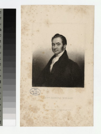 Portrait of Robert Melson