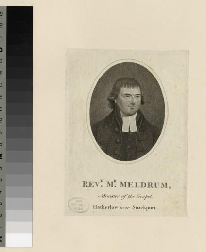 Portrait of Mr Meldrum