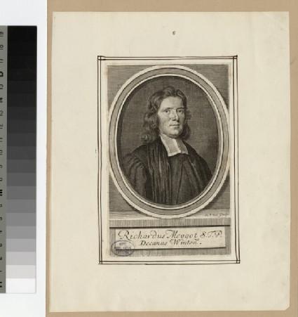 Portrait of Very Revd R. Meggot