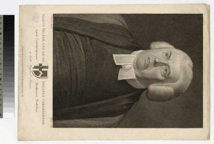 Portrait of Revd Dr Isaac Milner