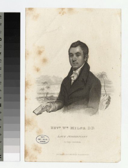 Portrait of W. Milne