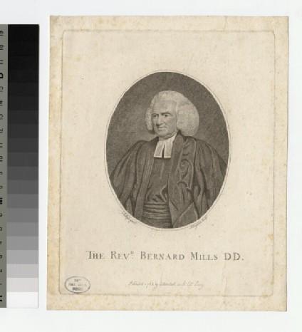 Portrait of B. Mills