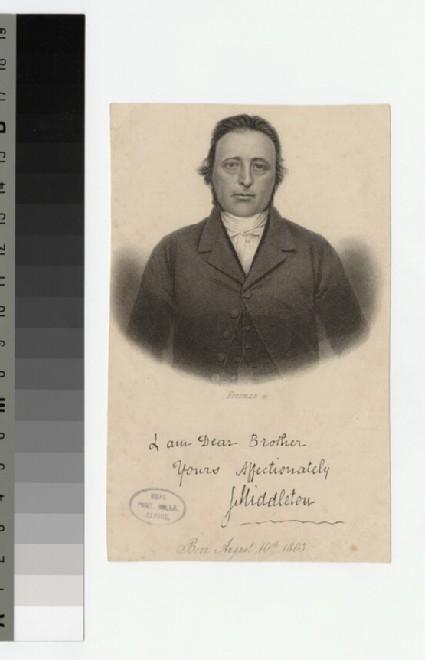 Portrait of J. Middleton