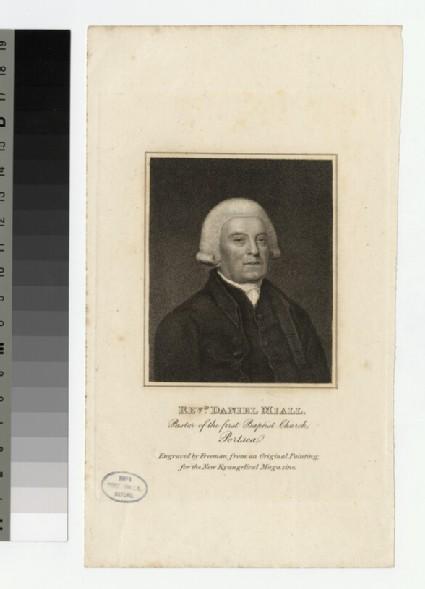 Portrait of D. Miall