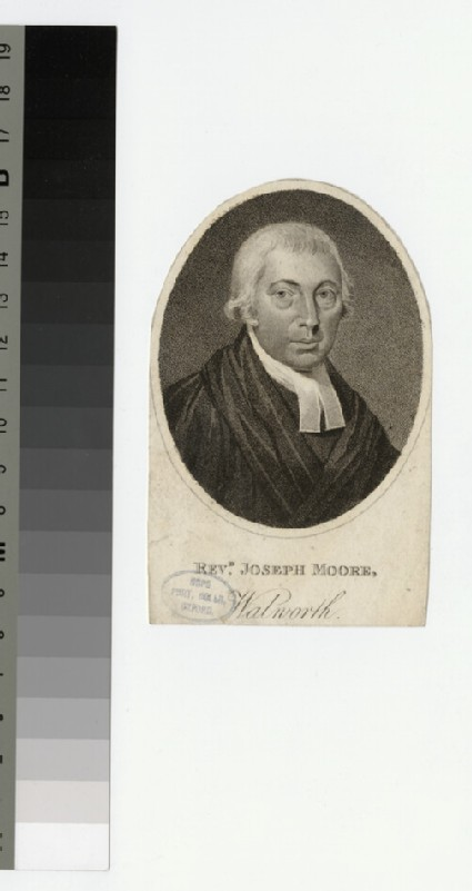 Portrait of J. Moore