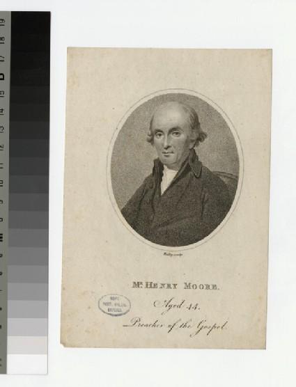 Portrait of H. Moore