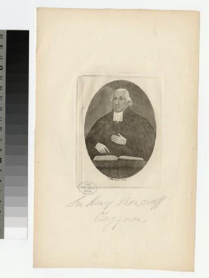 Portrait of Sir H. Moncrieff